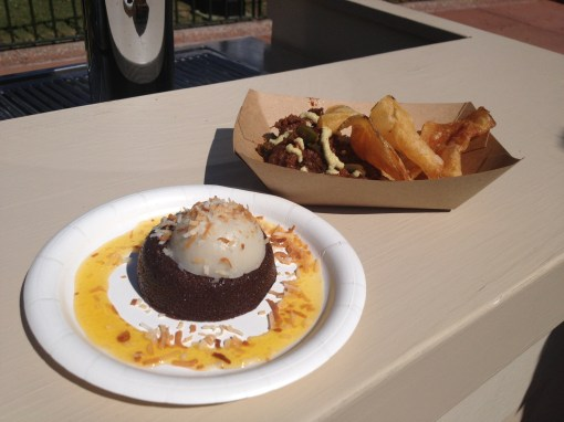 Food from Terra at Epcot Food and Wine Festival