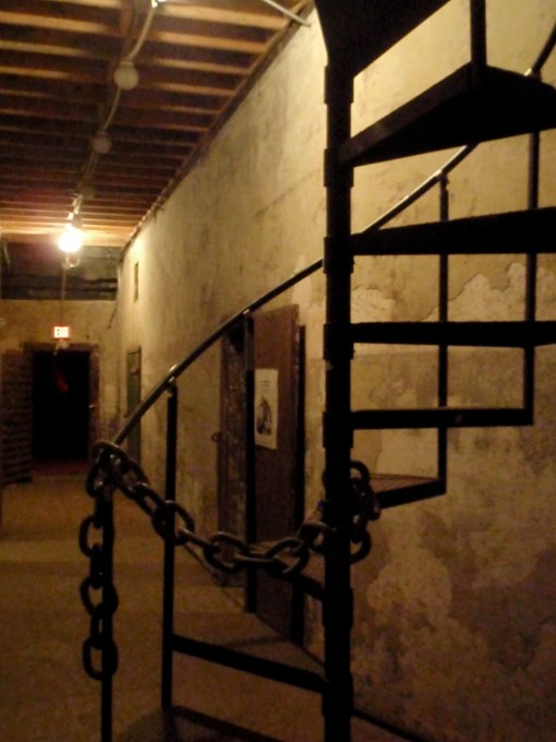 The Old City Jail in Charleston, SC