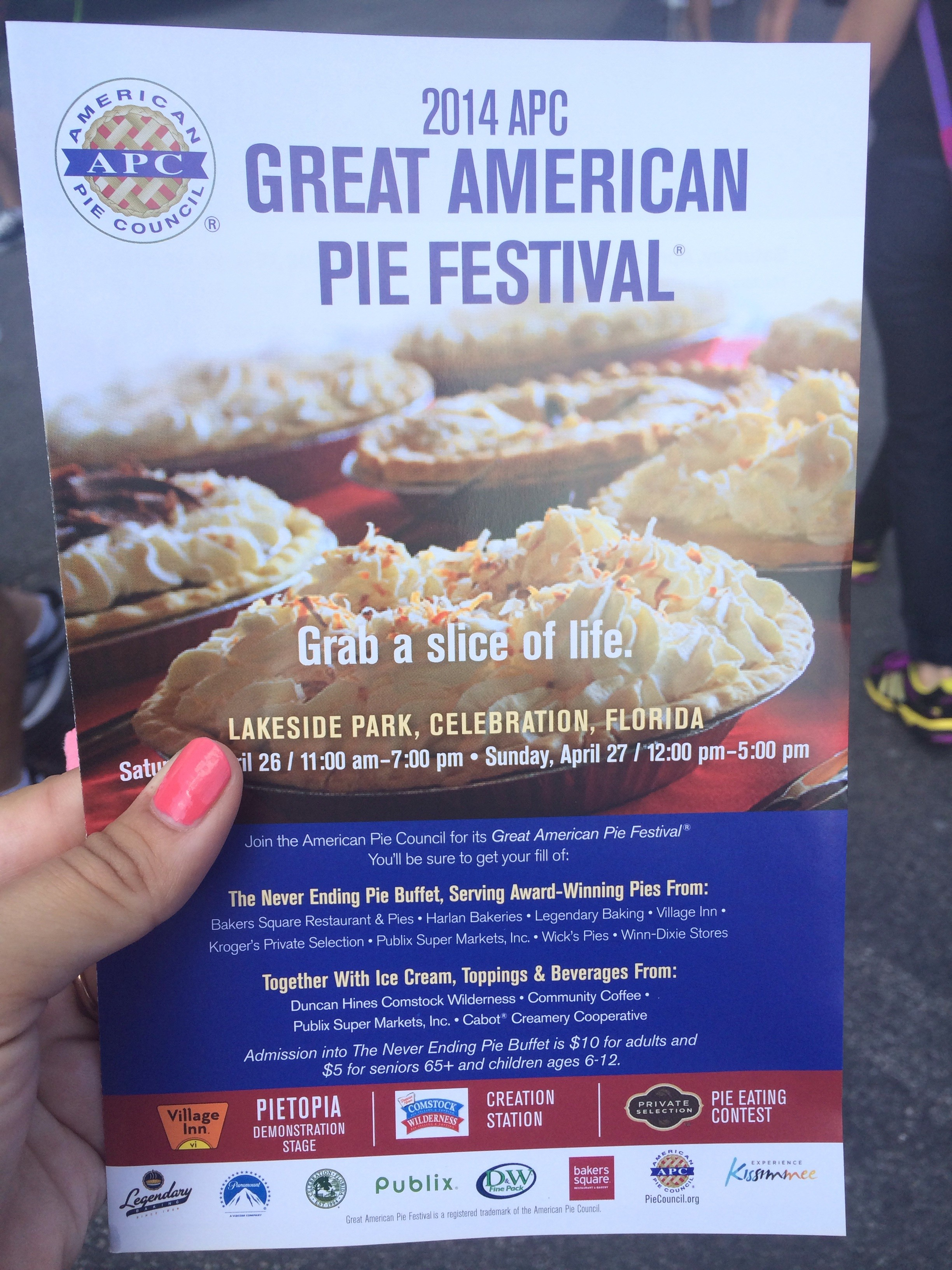 The Great American Pie Festival Mags On The Move - 12 great american food festivals
