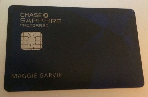 One of my favorite travel cards, the Chase Sapphire Preferred Card