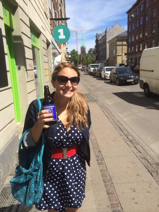Walking around Copenhagen