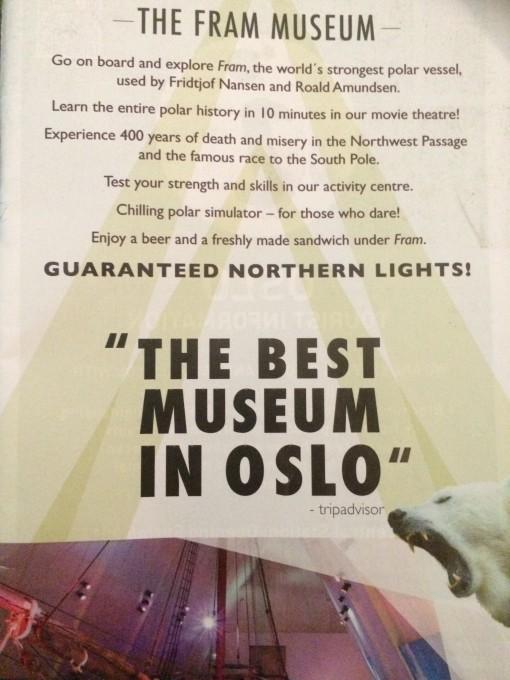 The Fram Museum in Olso