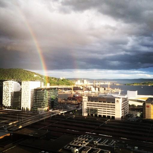 View from Radisson Blu Plaza Hotel