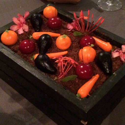 Fruits and Vegetables Box at Benazuza Restaurante at Oasis Sens