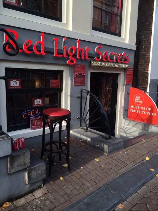 Red Light Secrets Museum of Prostitution in Amsterdam's Red Light District