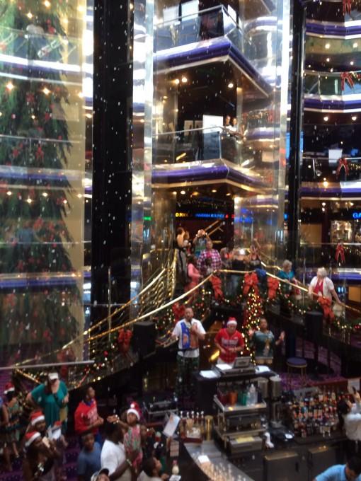 Christmas on the Carnival Sensation