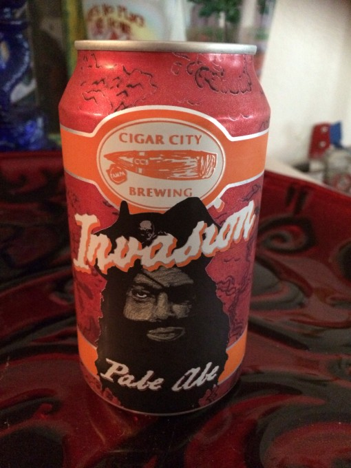 Invasion Pale Ale from Cigar City Brewing in Tampa, FL