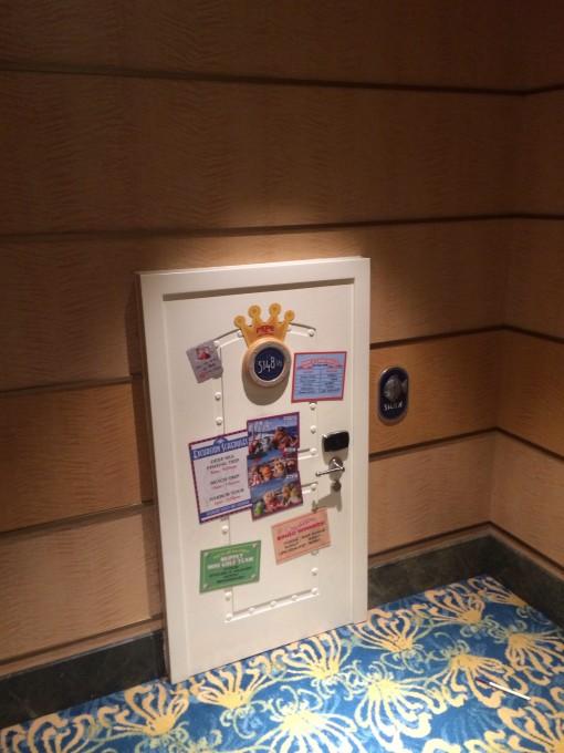Deck 5 on the Disney Fantasy- Disney Cruise Line