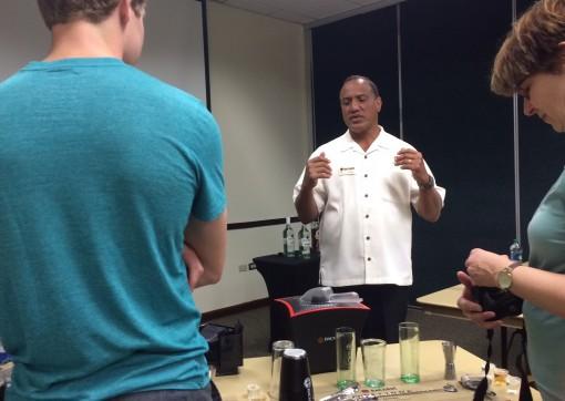 Mixology class at Casa Bacardi Distillery in San Juan, Puerto Rico