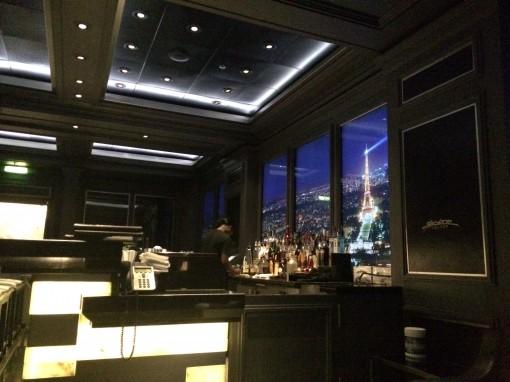 Skyine Bar on board the Disney Fantasy- Disney Cruise Line
