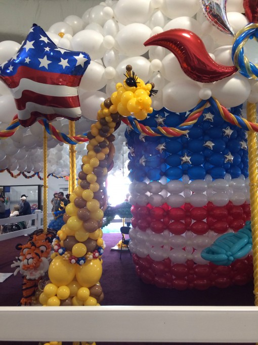 Balloon Carousel at the Florida State Fair in Tampa, FL 2015