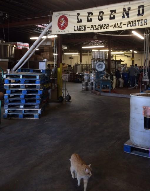Legend Brewing Co. in Richmond, VA