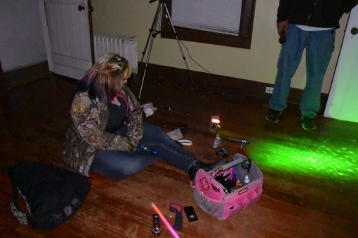 Paranormal investigation at the Nutmeg House in Hanover, VA