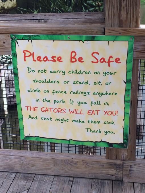 Gatorland in Kissimmee, FL