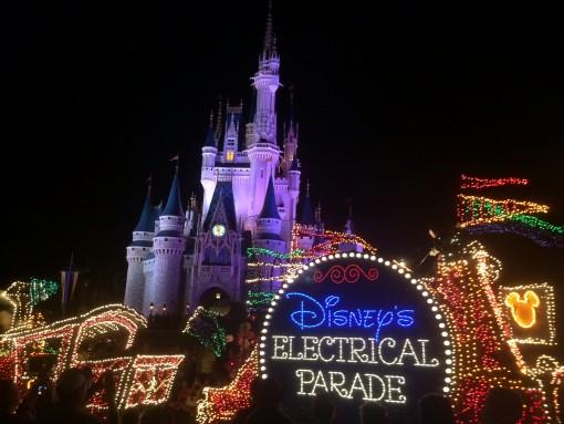 Disney's Electrical Parade at the Magic Kingdom in Walt Disney World!