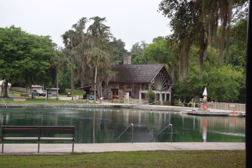 The Old Spanish Sugar Mill at De Leon Springs State Park in Florida
