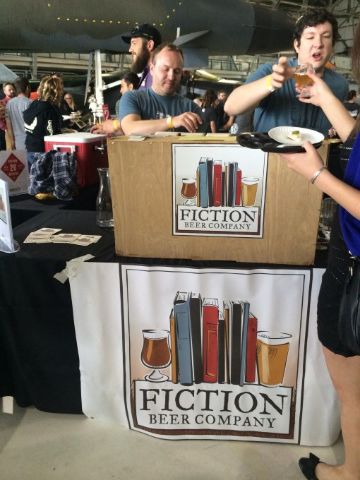 Fiction Beer Co. at BruFrou annual Craft Beer + Culinary Pairings event at the Wings Over the Rockies Museum in Denver, Colorado