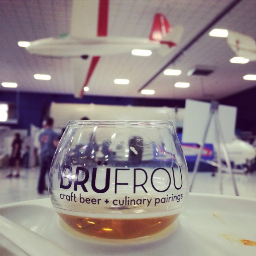 BruFrou annual Craft Beer + Culinary Pairings event at the Wings Over the Rockies Museum in Denver, Colorado