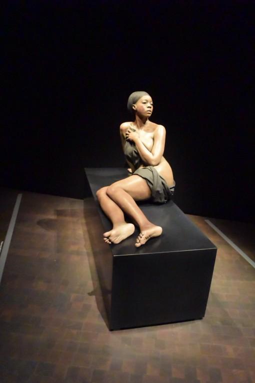 John De Andrea sculpture at Denver Museum of Art (D.A.M.), Denver, CO