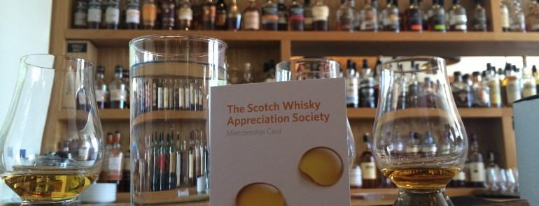 The Scotch Experience in Edinburgh, Scotland