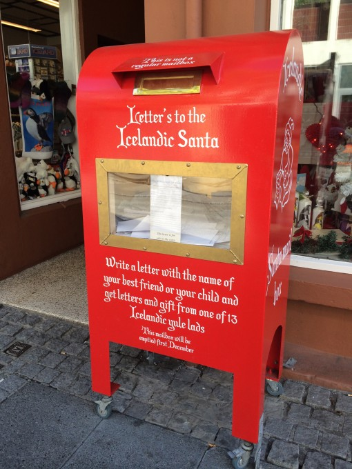 Send a letter to Icelandic Santa Claus in Reykjavik and recieve a gift from one of the Yule Lads