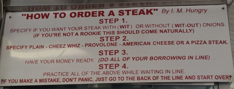 How to Order a Cheesesteak at Pat's Cheesesteaks in Philadelphia- home of the original Philly Cheesesteak
