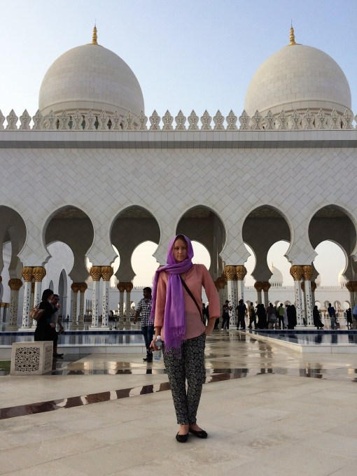 Sheikh Zayed Mosque, Abu Dhabi - Chantell Collins