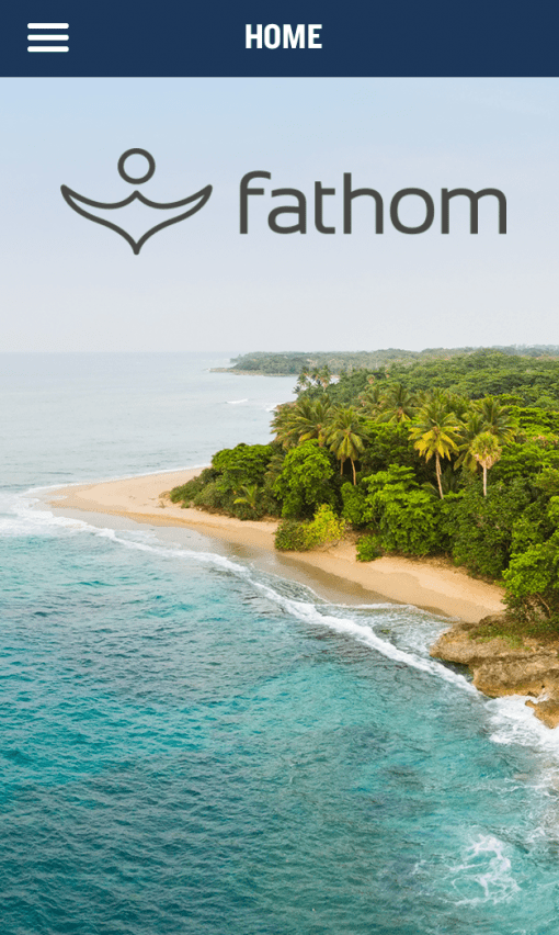 The Fathom Cruise Line App