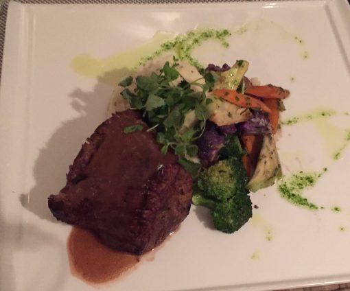 The Sabor Restaurant at the Hilton Resorts World Bimini