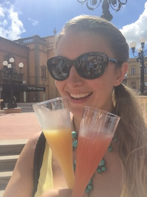 Drinking at Epcot