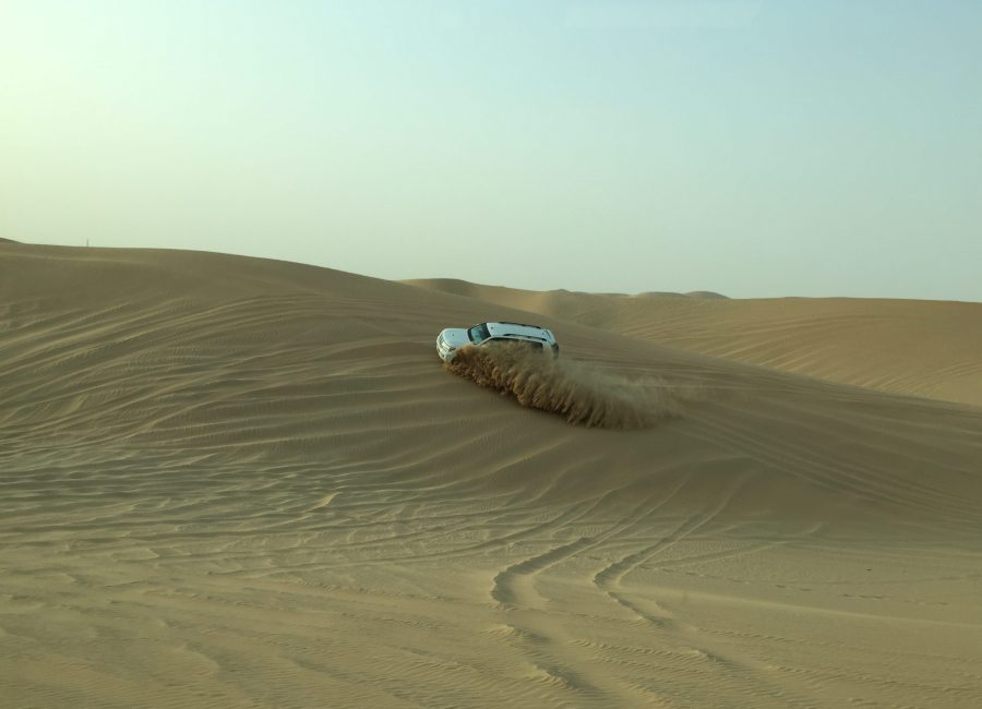 Dune bashing in Abu Dhabi is not for the faint of heart (or stomach)