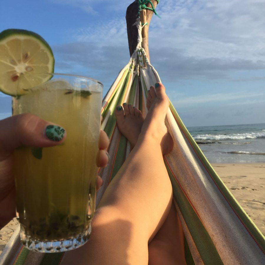 Fresh passion fruit mojitos served to me in a hammock on Isla Isabela in the Galapagos Islands. I'm pretty sure this is the best my life will get.