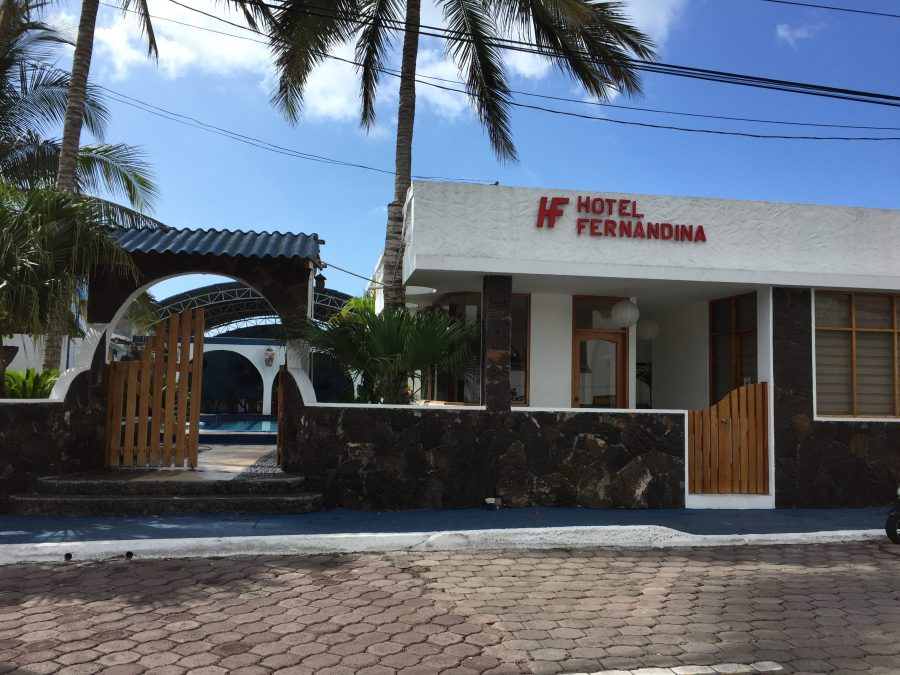 Hotel Fernandina in Puerto Ayora, Santa Cruz in the Galapagos Islands