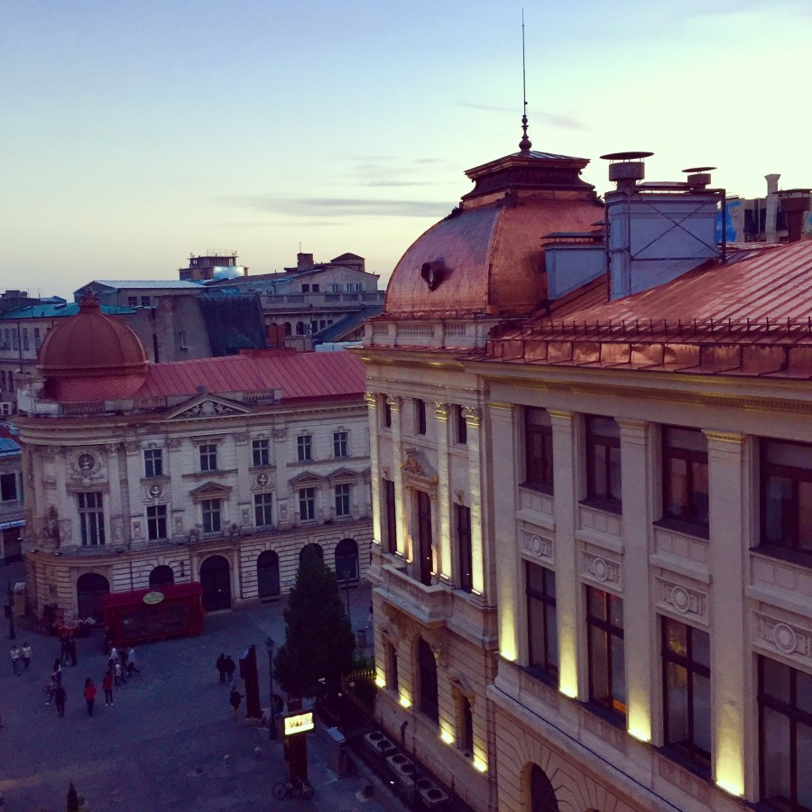 Bucharest Below the Surface-Mags on the Move