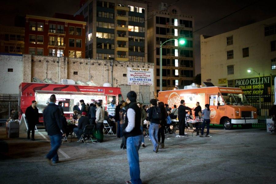 Food Trucks at LA Art Walk