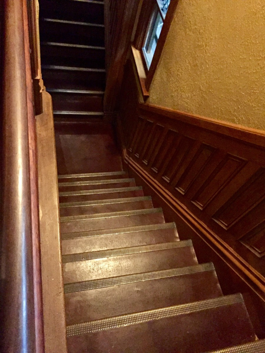 Stairase to nowhere at the Winchester Mystery House