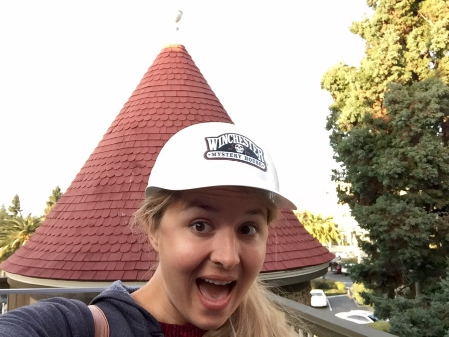 The Explore More tour of the Winchester Mystery House takes you so far behind the scenes that you need a hard hat!