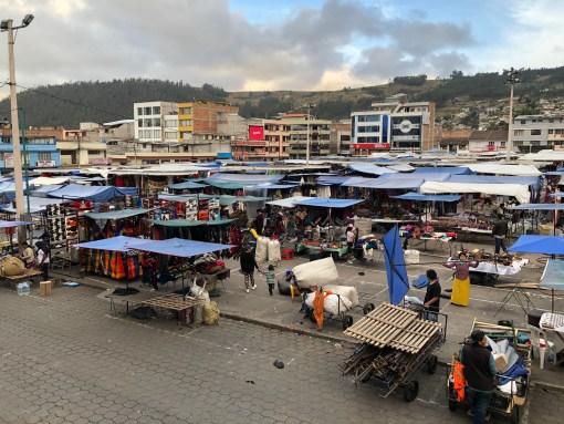 Otavalo Market in Otavalo, Ecuador