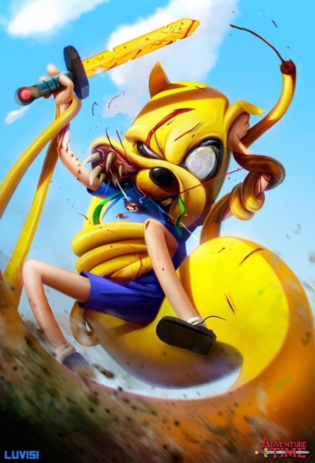 10-popped-culture-evil-cartoon-characters-illustration-dan-_007-697x1024
