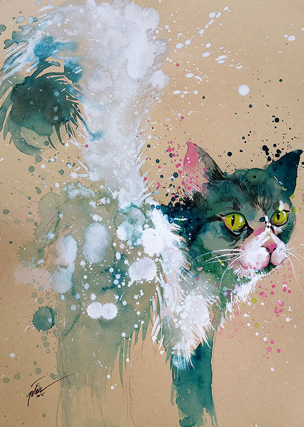 5-colorful-animal-watercolor-paintings-tilen-ti-7