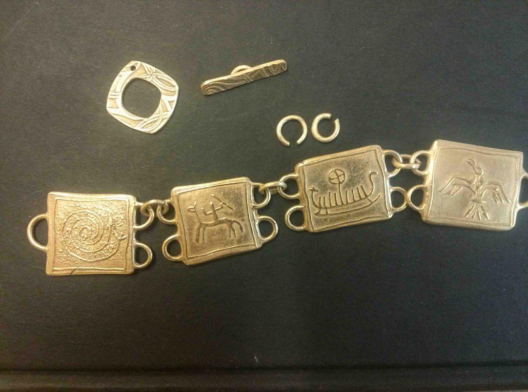 Armband aus Bronze