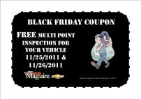 black friday service coupon