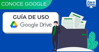 Banner - Guía de uso de Google Drive
