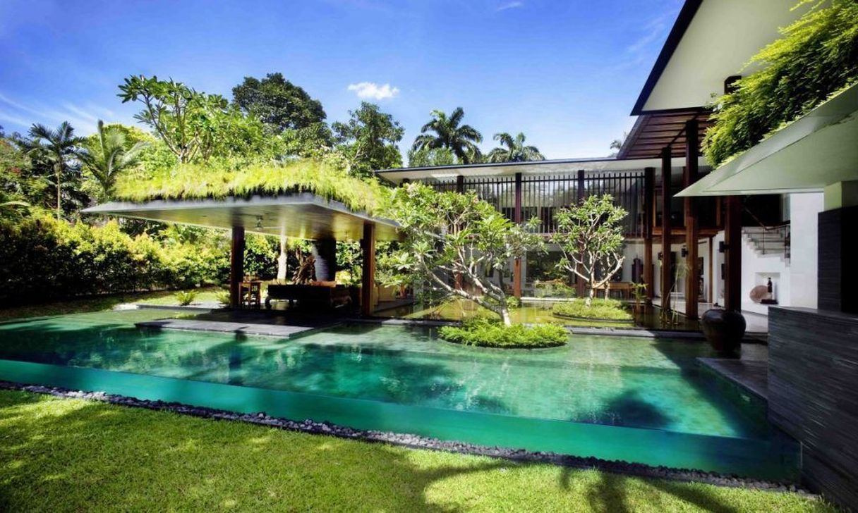 Awesome Elegant Swimming Pools Design Ideas 15