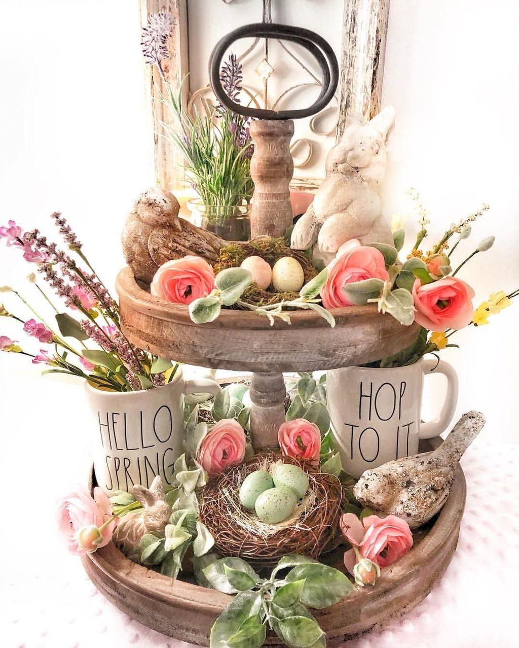 Beautiful Spring Home Decor Ideas 05