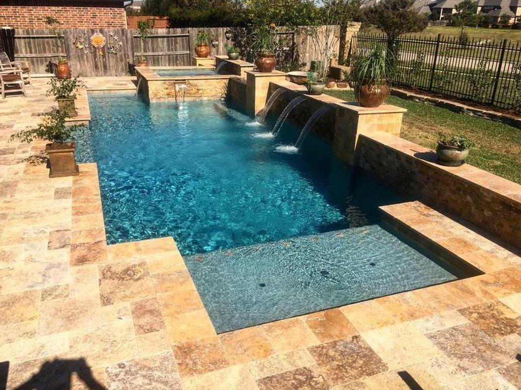 Gorgeous Summer Outdoor Pool Design Ideas 05