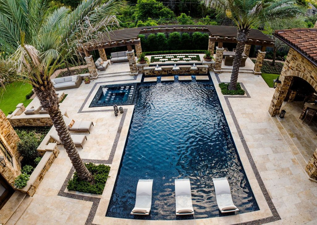 Gorgeous Summer Outdoor Pool Design Ideas 13