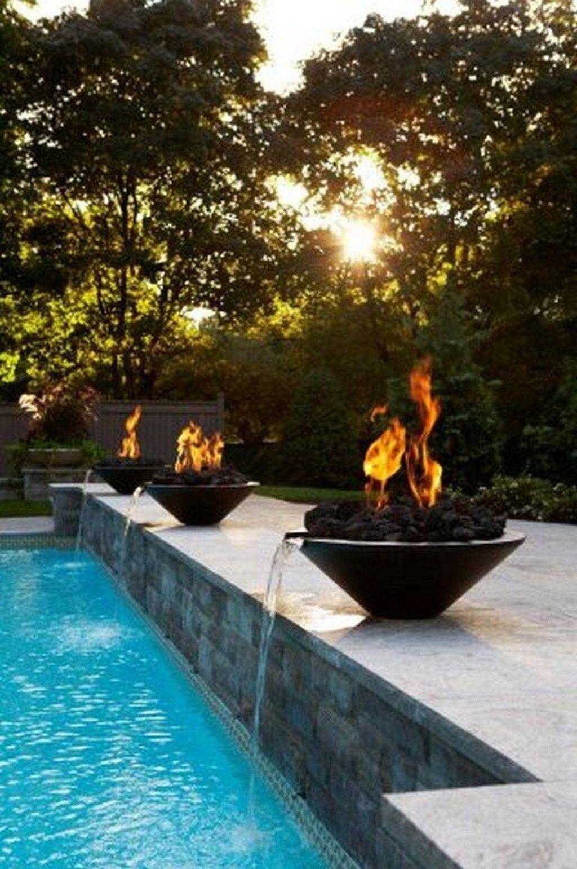 Gorgeous Summer Outdoor Pool Design Ideas 24