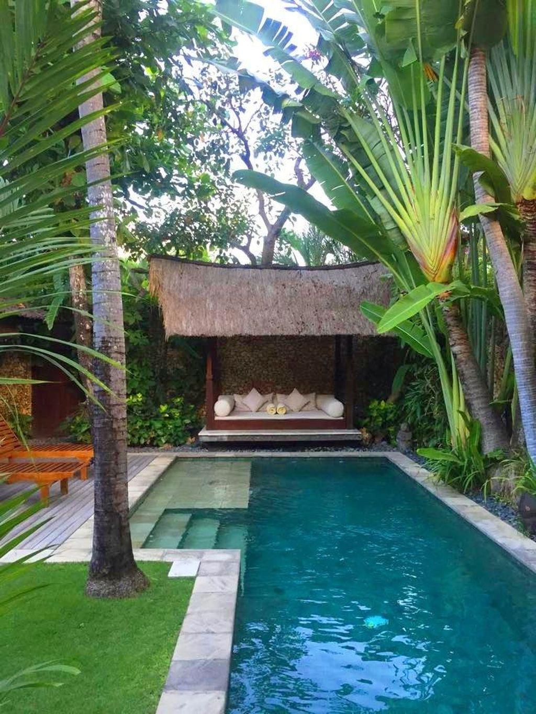 Gorgeous Summer Outdoor Pool Design Ideas 32