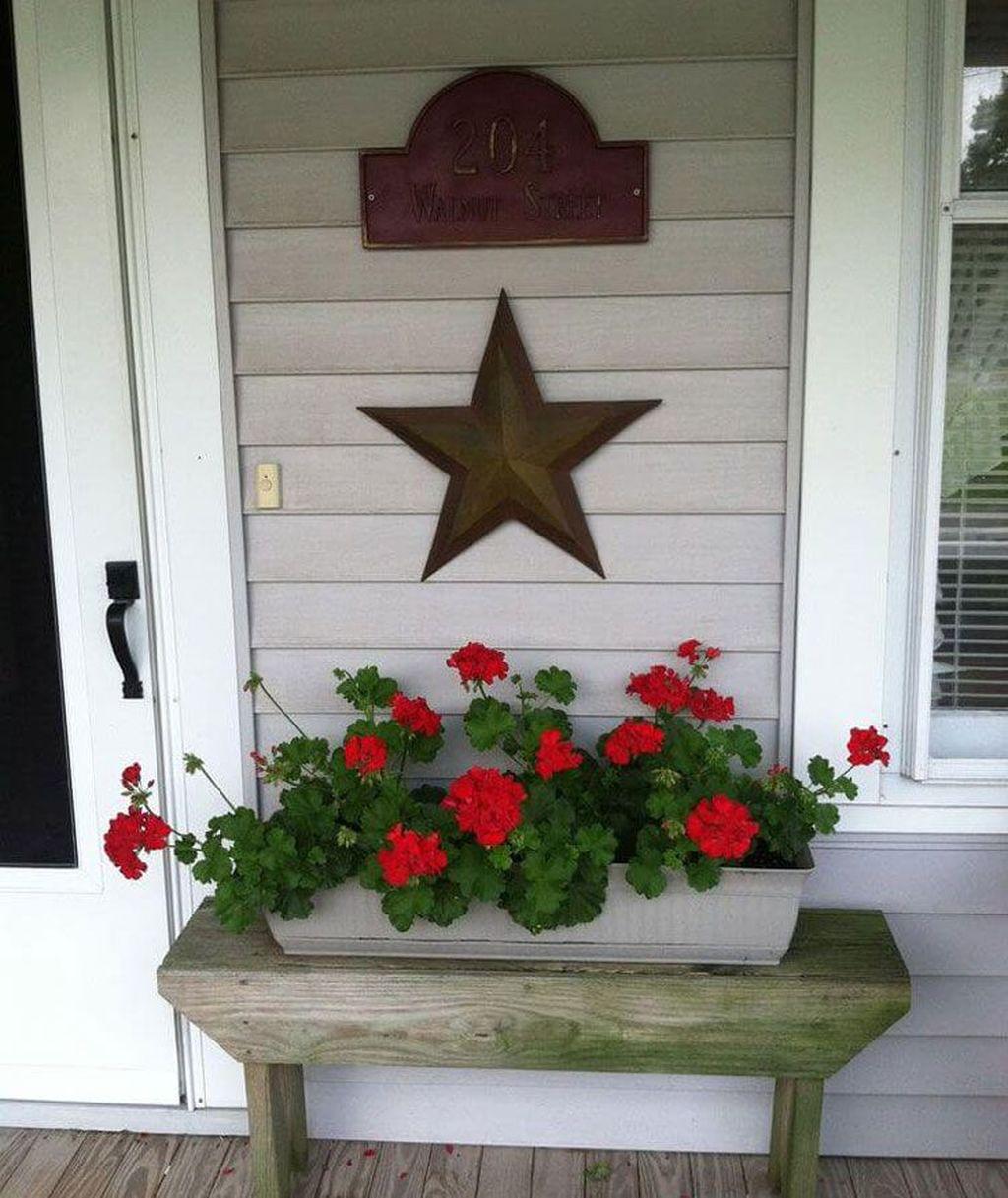 Inspiring Spring Planters Design Ideas For Front Door 05